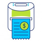 mobile invoicing and printing solution icon