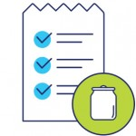 Products paper list icon
