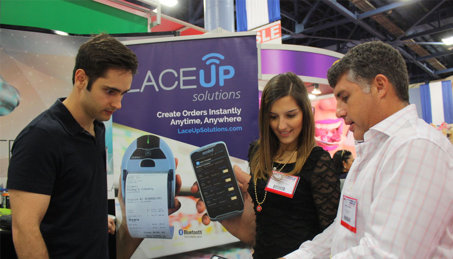 People from the LaceUp team at the 19th Americas Food and Beverage Show & Conference