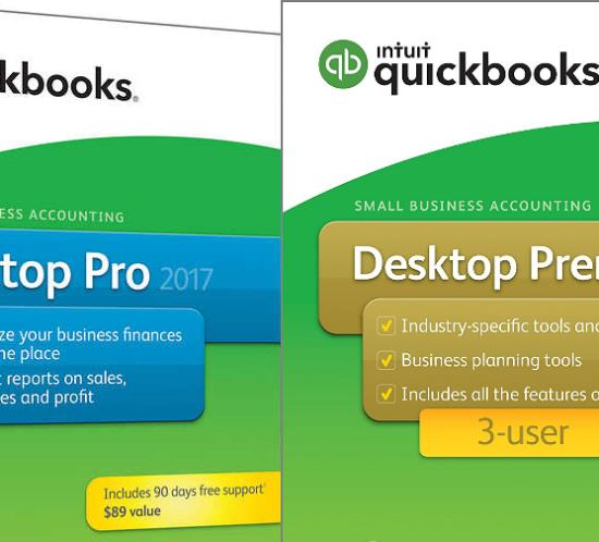 QuickBooks Pro vs Premier