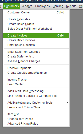 Quickbooks Inventory Control Step 14