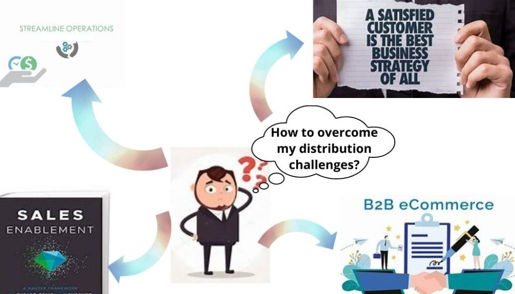How to overcome my Distribution challenges